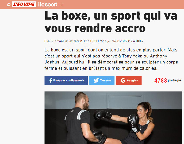 power shop lille dans le magazine l'equipe